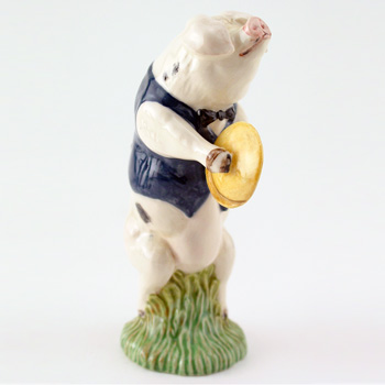 Andrew The Cymbal Player PP4 - Royal Doultoun Storybook Figurine