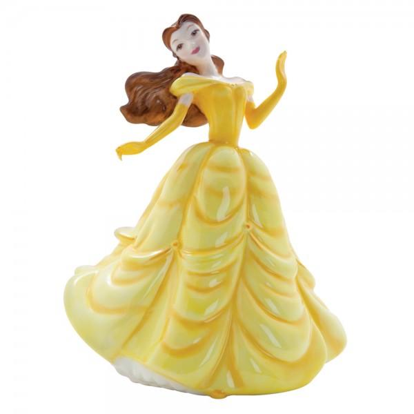 Belle DP7 - Disney Princesses Collection - Royal Doultoun Storybook Figurine