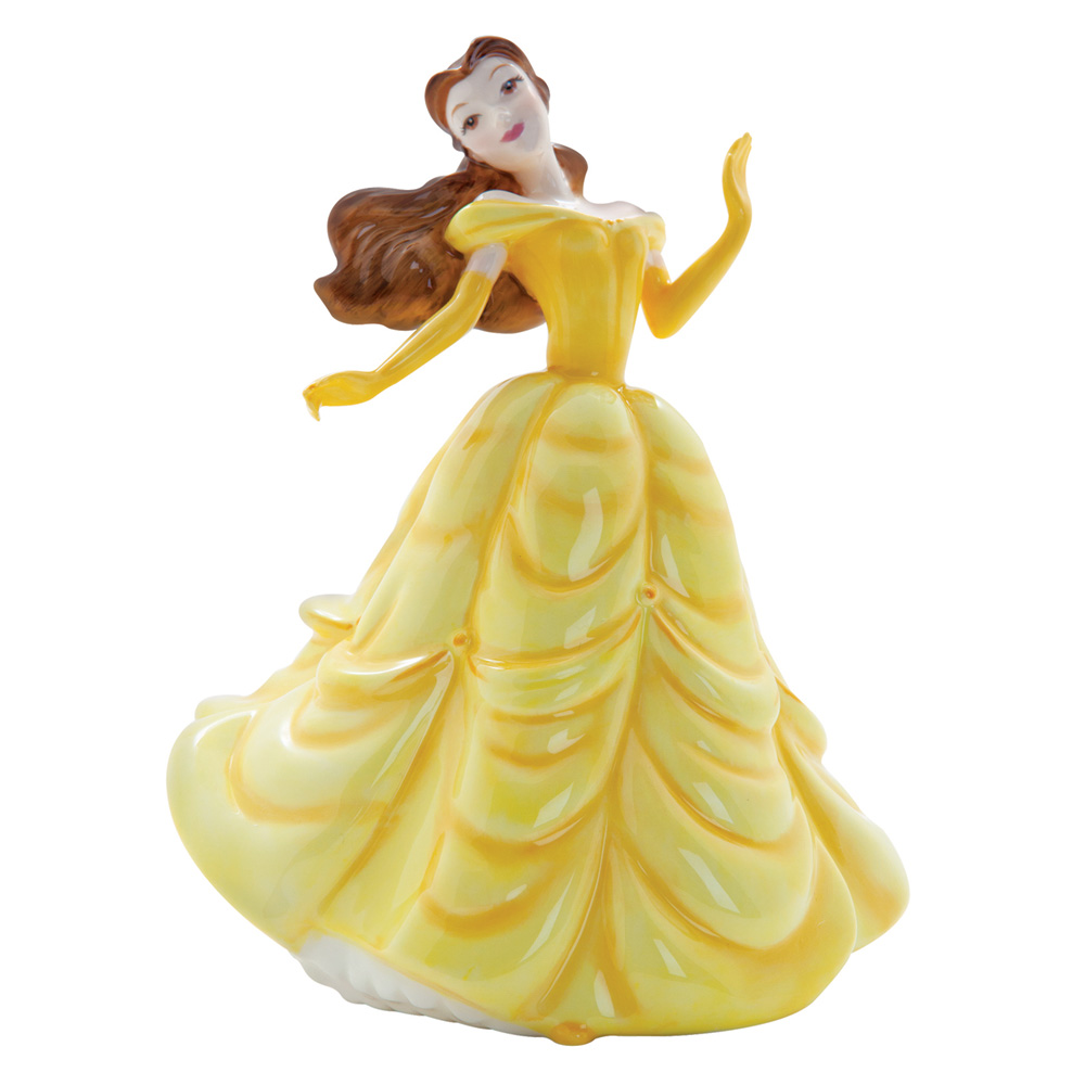 Belle DP7 - Disney Princesses Collection - Royal Doultoun Storybook Figurine