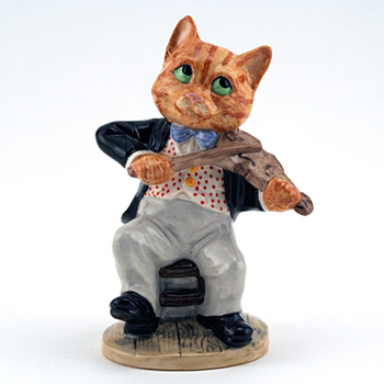 Cat and the Fiddle DNR4 - Royal Doultoun Storybook Figurine