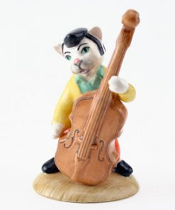 Catwalking Bass CC6 - Royal Doultoun Storybook Figurine