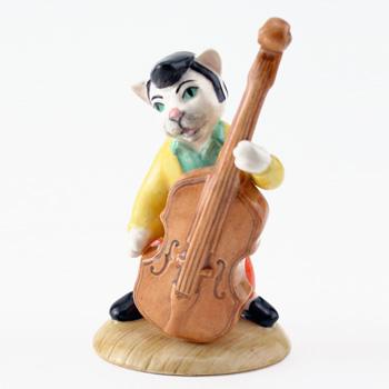 Catwalking Bass CC6 - Royal Doultoun Storybook Figurine
