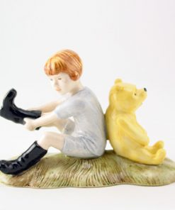 Christopher Robin and Pooh WP10 - Royal Doultoun Storybook Figurine