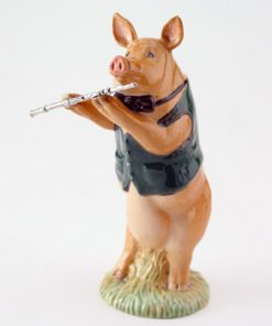 David the Flute Player PP3 - Royal Doultoun Storybook Figurine
