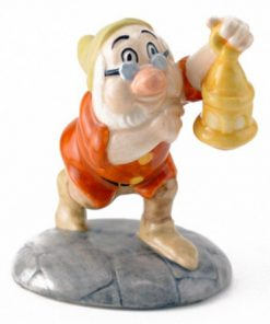 Doc With The Lantern SW19 - Royal Doultoun Storybook Figurine