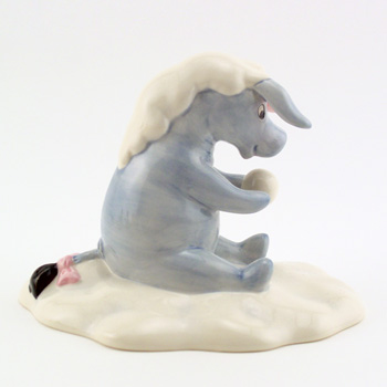 Eeyore Made a Wintery Wish WP44 - Royal Doultoun Storybook Figurine