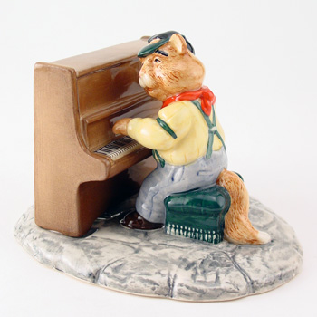 Fat Cat CC9 - Royal Doultoun Storybook Figurine