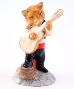 Feline Flamenco CC7 - Royal Doultoun Storybook Figurine