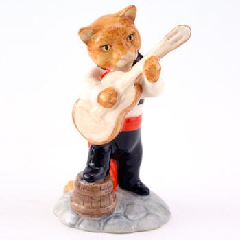 Feline Flamenco CC7 - Royal Doultoun Storybook Figurine