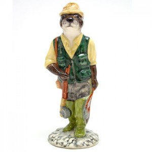 Fisherman Otter ECF2 - Royal Doultoun Storybook Figurine