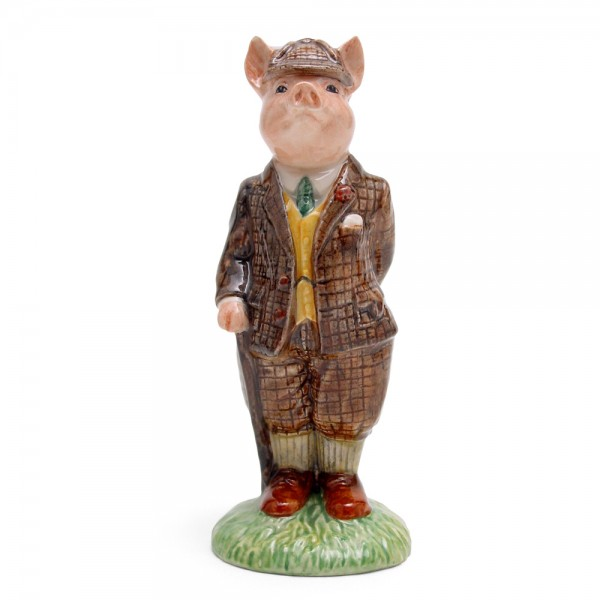 Gentleman Pig - Royal Doultoun Storybook Figurine
