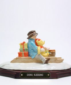 Going Sledging WP34 Tableau - Royal Doultoun Storybook Figurine