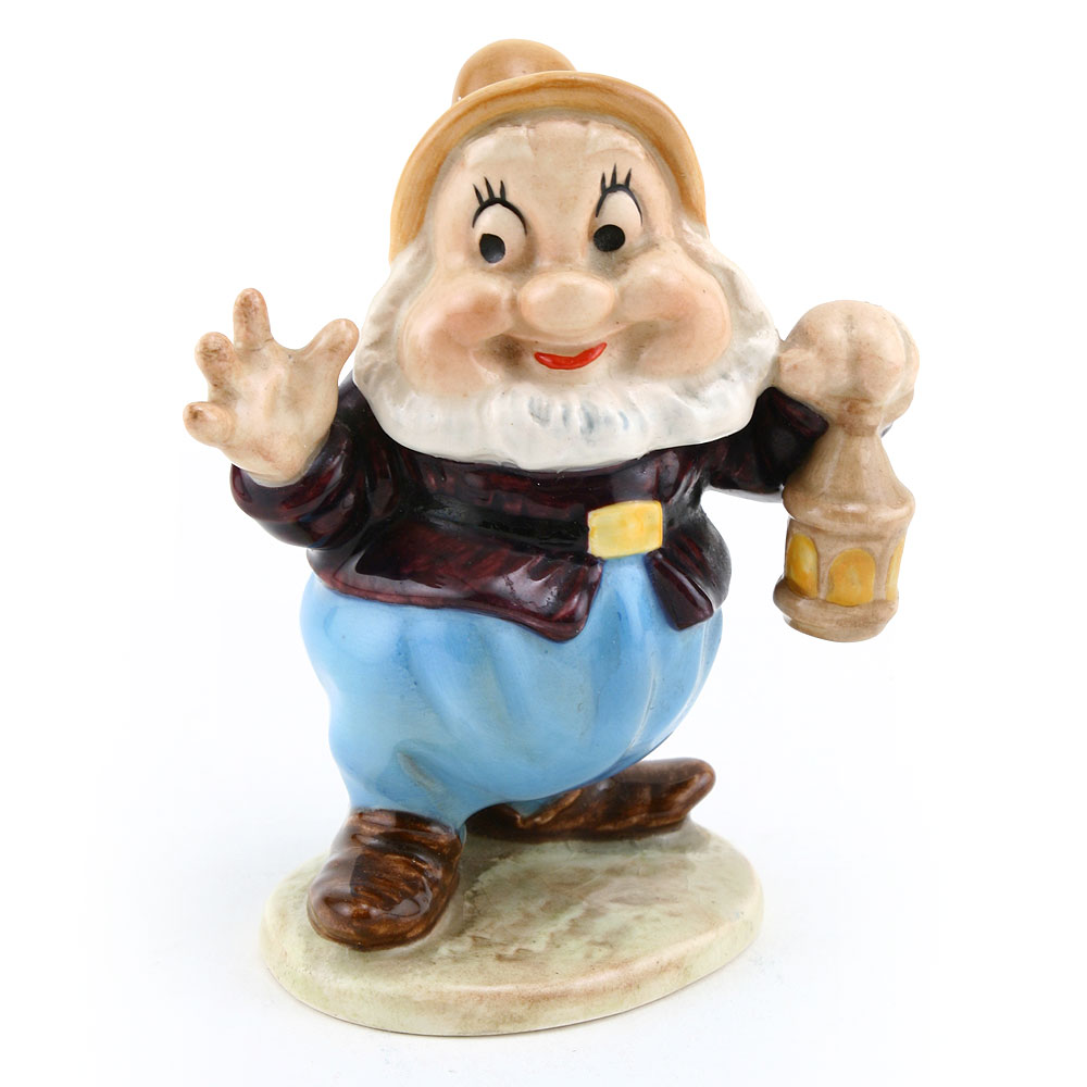Happy, Gold Backstamp - Royal Doultoun Storybook Figurine