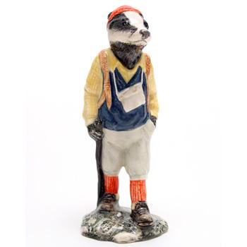 Hiker Badger ECF6 - Royal Doultoun Storybook Figurine