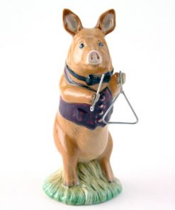 James the Triangle Player PP7 - Royal Doultoun Storybook Figurine