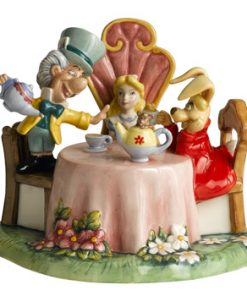 Mad Hatters Tea Party DM15 - Royal Doultoun Storybook Figurine