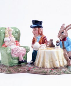 Mad Hatters Tea Party LC1 - Royal Doultoun Storybook Figurine