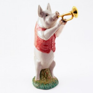 Matthew The Trumpet Player PP2 - Royal Doultoun Storybook Figurine