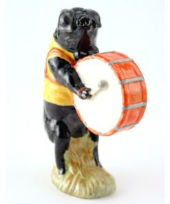 Michael The Bass Drum Player PP6 - Royal Doultoun Storybook Figurine