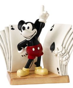 Mickeys Dancing Deck DAN7 - Royal Doultoun Storybook Figurine