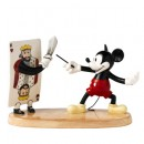 Mickeys Duel with the King DAN8 - Royal Doultoun Storybook Figurine