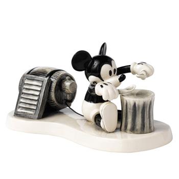 Mickeys One Man Band DAN2 - Royal Doultoun Storybook Figurine