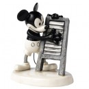 Mickeys Washboard Melody DAN1 - Royal Doultoun Storybook Figurine