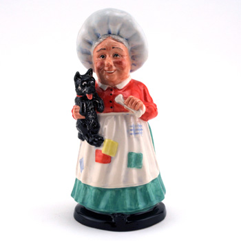 Old Mother Hubbard DNR3 - Royal Doultoun Storybook Figurine