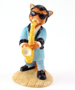 One Cool Cat CC3 - Royal Doultoun Storybook Figurine
