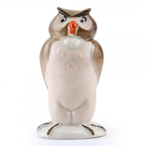 Owl (Gold) - Royal Doultoun Storybook Figurine
