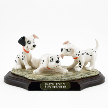Patch Rolly and Freckles DM5 - Royal Doultoun Storybook Figurine