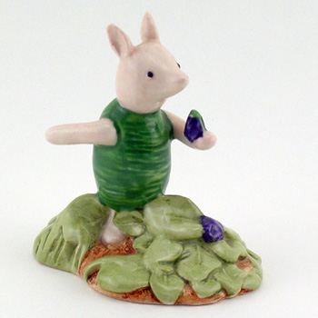 Piglet Picking The Violets WP13 - Royal Doultoun Storybook Figurine