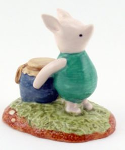Piglet and The Honey Pot WP29 - Royal Doultoun Storybook Figurine