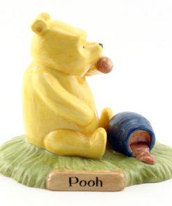 Pooh Began To Eat WP28 - Royal Doultoun Storybook Figurine