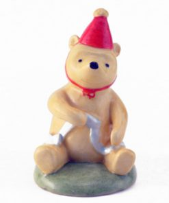 Pooh The Party Hat WP33 - Royal Doultoun Storybook Figurine