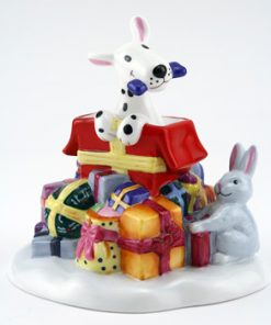 Snowdrift's Christmas Surprise FF5 - Royal Doultoun Storybook Figurine
