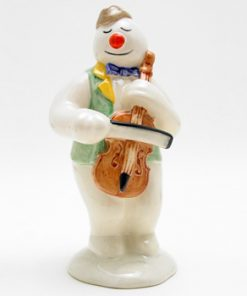 Cellist Snowman DS17 - Royal Doultoun Storybook Figurine