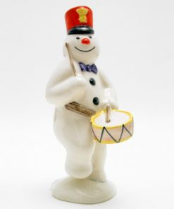Drummer Snowman DS15 - Royal Doultoun Storybook Figurine