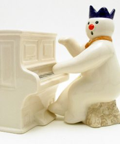 Pianist Snowman DS12 - Royal Doultoun Storybook Figurine