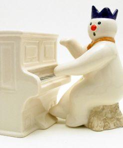 Pianist Snowman DS12 - Royal Doultoun Storybook Figurine