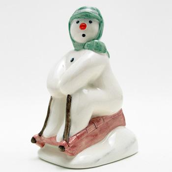 Tobogganing DS20 - Royal Doultoun Storybook Figurine