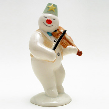 Violinist Snowman DS11 - Royal Doultoun Storybook Figurine