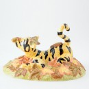 Sometimes Autumn Tickles Your Nose WP43 - Royal Doultoun Storybook Figurine