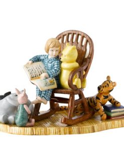 Storytime in 100 Acre Wood WP111 - Royal Doultoun Storybook Figurine