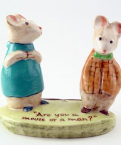 Strained Relations - Royal Doultoun Storybook Figurine