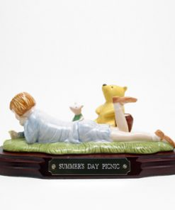 Summer's Day Picnic WP21 Tableau - Royal Doultoun Storybook Figurine