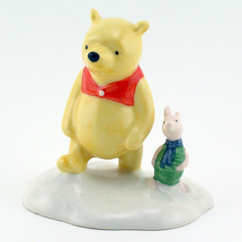The More It Snows, Tiddely Pom WP20 - Royal Doultoun Storybook Figurine