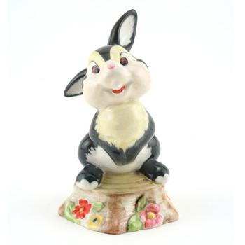 Thumper Beswick Gold - Royal Doultoun Storybook Figurine