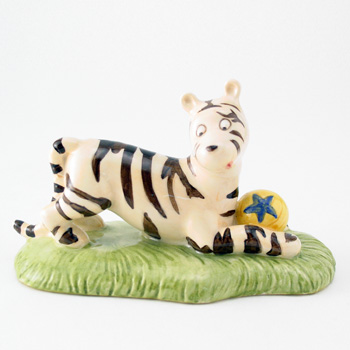 Tigger Plays Ball WP30 - Royal Doultoun Storybook Figurine