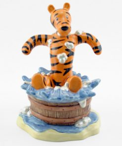 Tigger's Splash Time WP58 - Royal Doultoun Storybook Figurine